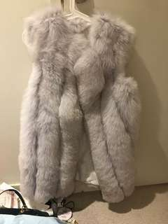 Real fur clothing size 8