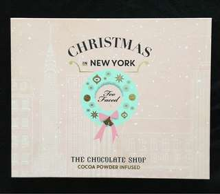 Too Faced Chocolate Shop Face & Eye Palette Christmas Limited Edition