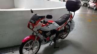 Yamaha rxz for rent