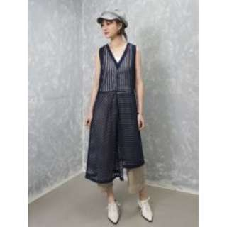 Rococo Two Pieces A Line Patched Dress (ITEM #11373) 原價HKD$980.00  1套2件