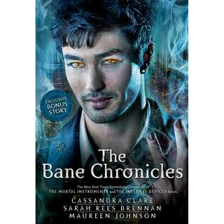 instock The Bane Chronicles by Cassandra Clare, Sarah Rees Brennan, and Maureen Johnson