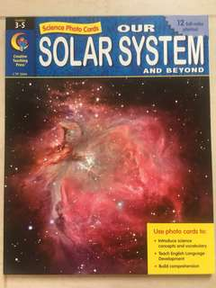 Our Solar System - Science Photo Cards