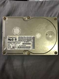 "Vintage Quantum 3.5"" Hard Disk 3.2GB AT IDE Connector"