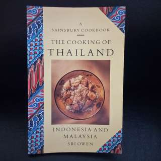 Book: The Cooking of THAILAND, INDONESIA AND MALAYSIA