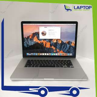 APPLE MacBook Pro 15 Retina (i7/16GB/256GB/Mid-2015) [Preowned]