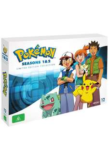 Pokémon Season 1 & 2 Limited Edition Dvd Box Set