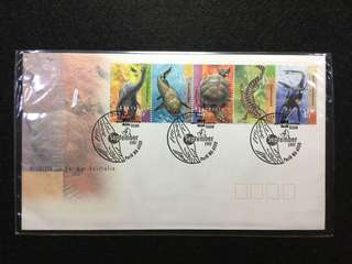 1997 Australia Wildlife Of Ancient Australia  First Day Cover