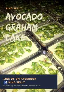 Avocado Graham Cake