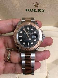 黑面Rolex Yacht-Master遊艇 116621