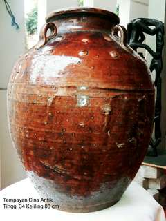 Tempayan China Antik