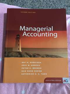 Managerial Accounting (Second Edition)