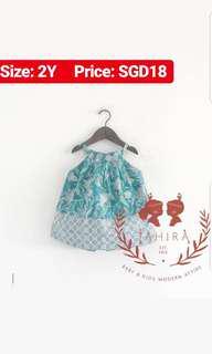 Batik dress for girl
