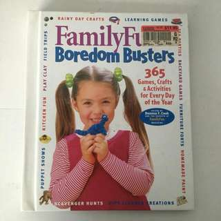 Family Fun, Boredom Busters, 365 Games, Crafts & Activities Book