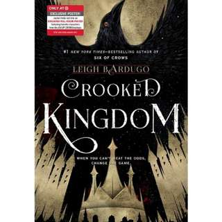 Target Exclusive Edition Crooked Kingdom by Leigh Bardugo