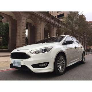 <小馬愛車> 2016 Ford Focus 1.5 白