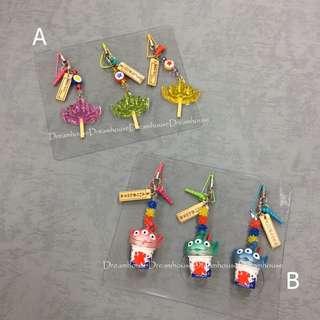 東京迪士尼 2018 夏季限定 玩具總動員 三眼怪 剉冰 棒棒糖 造型 耳機塞 防塵塞 吊飾 鑰匙圈