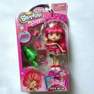 Shopkins shoppies doll pippa melon