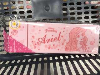 搶手😍Disney 美人魚 小魚仙 Princess Ariel 筆盒 pencil case