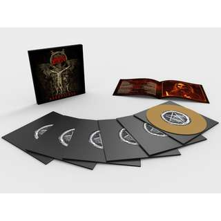 "Slayer ‎– Repentless (Gold) 6.66"" Vinyl Limited Edition Box Set (2000pcs)"