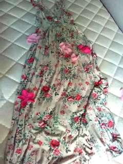 Piping Hot maxi dress