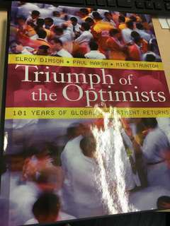Triumph of the Optimists
