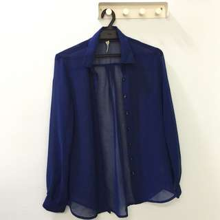 Blouse (Dark Blue)
