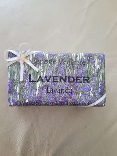 Lavender Bar Soap from Italy