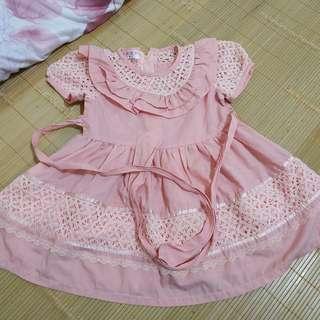 🚚 粉紅洋裝