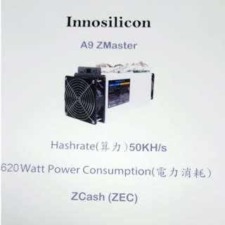 Innosilicon A9 ZMaster