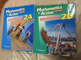 Mathematics in Action (Third Edition) Workbook 2A 2B Pearson