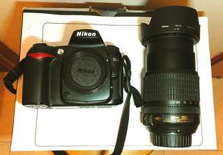 Nikon D90 + 3 Lenses For Sale