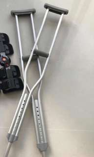 crutches adult post operation op