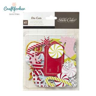 🚚 ★DIE CUTS★ FESTIVE SEASON MAGICAL STUDIO CALICO (41 PCS)