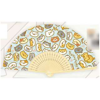 Neko Atsume Folding Fan