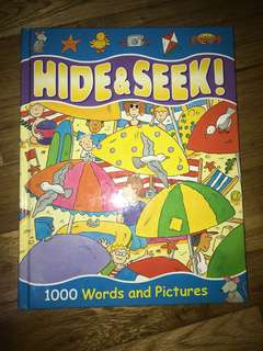 Hide & Seek! 1000 Words and Pictures