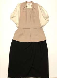 斯文裙 Haniiy & valentino black skirt size 38 10