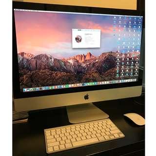 iMac 27'' i7 2.93GHz 12GB RAM 1TB HDD (Mid 2010) - 90% 新New