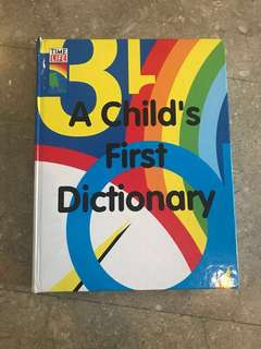 Time-Life: A Child's First Dictionary