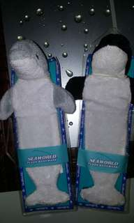 Seaworld Dolphin/Whale bookmarks