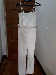 crop cami and pants set