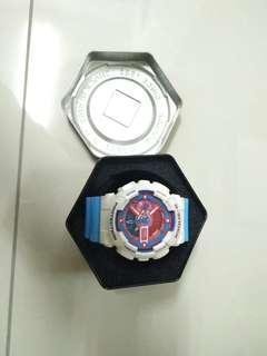 🚚 9.5成新 Gshock鋼彈配色 錶帶換全新的