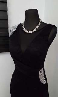 FOR RENT: Black Long Gown