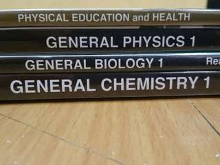 Senior High Books for STEM students