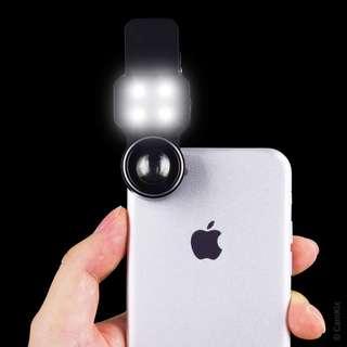1363. Camera Lens Kit with LED Light