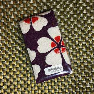 【日本帶回】大阪限定牙籤隨身包 隨身鏡 牙籤收納 牙籤盒 牙籤套 和服配件 手工小物