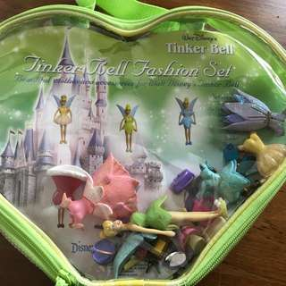 Disney tinker bell fashion set