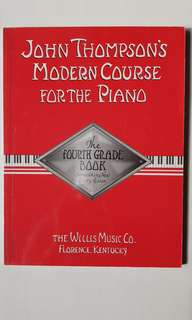John Thompson's Modern Course for the Piano (2nd and 4th book)