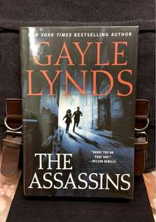 # Novel《New Book Condition + Hardcover Edition + Espionage Thriller Fiction Wrapped In Historical Fact》Gayle Lynds - THE ASSASSINS