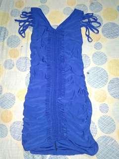 Party Blue dress