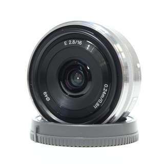 Sony E 16mm f2.8 Lens